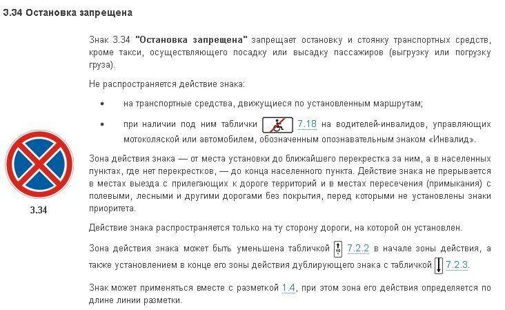 знак остановка запрещена со стрелкоц вниз Новости