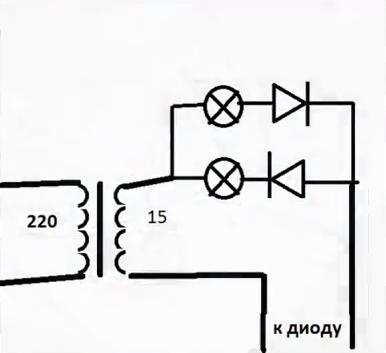 диодного моста генератора