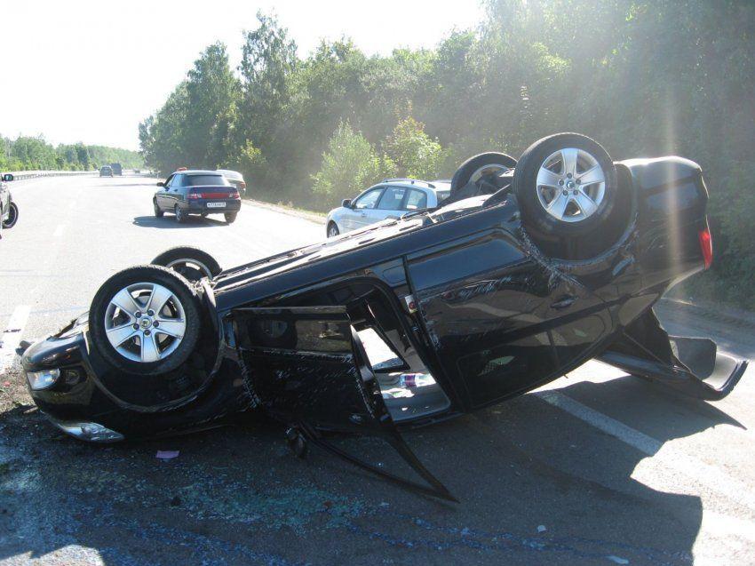 авария на трассе м7 skoda octavia четыре