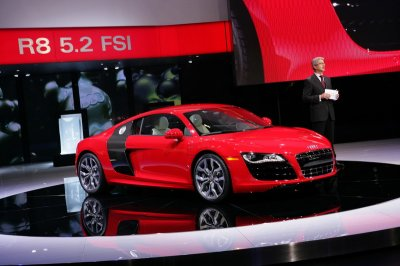 Audi ������������ ����� �������� R8 Competition
