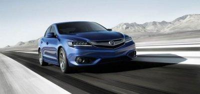 На автосалоне в Лос-Анджелесе «Acura» представила обновленный седан «ILX»