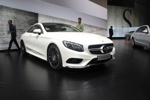 � �����-���������� ������ ����������� Mercedes-Benz S-Class Coupe S500