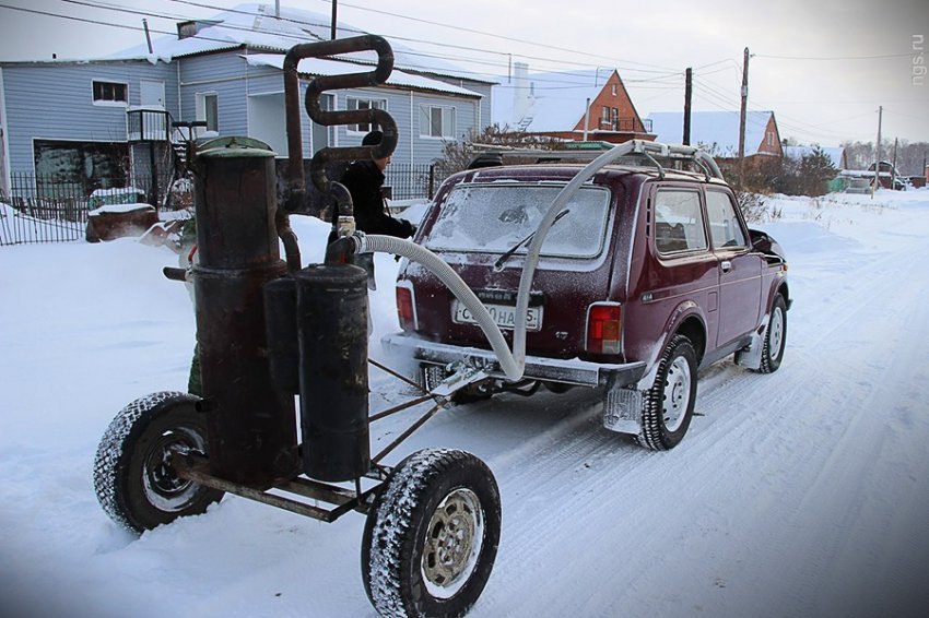 Авто на дровах своими руками чертежи фото