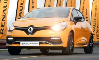 ���������� ������� Renault Clio RS � Megane RS ����� �������������� ��� �����