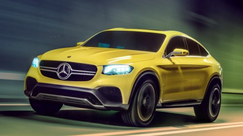 � ��������� ��������� ���� ������ �������� Mercedes-Benz GLC Coupe