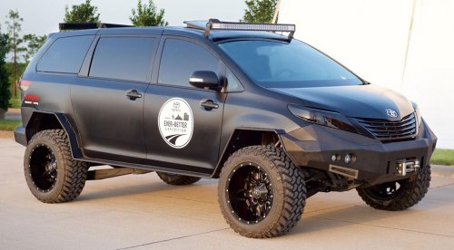 Toyota на фестивале тюнинга SEMA покажет Ultimate Utility Vehicle
