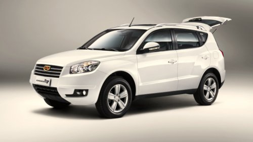 Geely ������� ��������� Emgrand X7 ��� ������