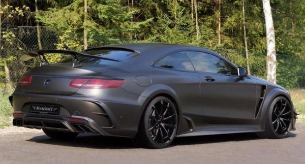 ������ �� Mansory ����������� Mercedes-AMG S63 Coupe Black Edition