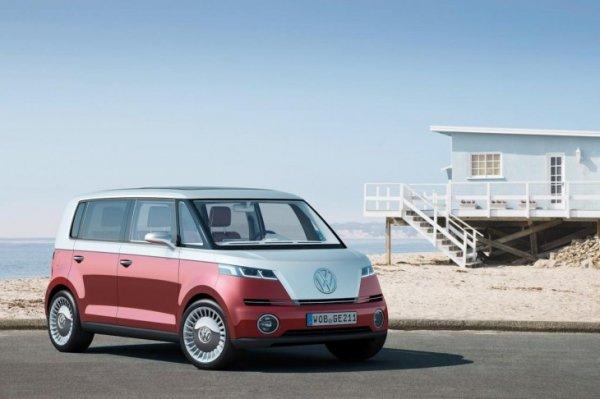 Volkswagen в январе 2016 года в Лас-Вегасе представит возрожденный Microbus
