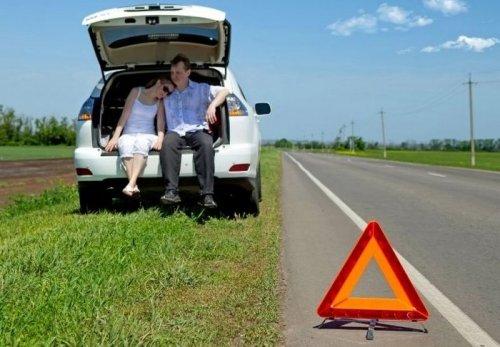 Что делать, если автомобиль поломался на трассе?