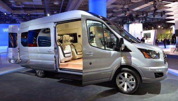 Ford Transit одарили системой автоматического торможения