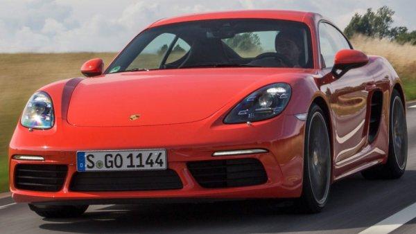 Немцы представили новый спорткар: Обзор Porsche 718 Cayman S 2016