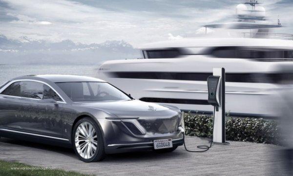 Varsovia Motor Company показала концепт премиального седана
