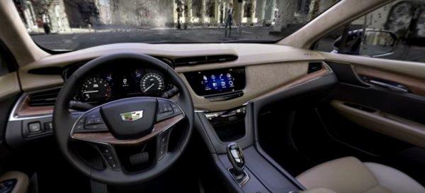 Cadillac опубликовал панорамные видео интерьеров новых CT6 и XT5