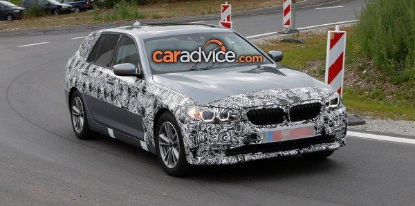 Универсал BMW 5-Series Touring 2017 снова сфотографирован на тестах: Автоновости, тест-драйвы, обзоры, новинки авто, сводки ДТП