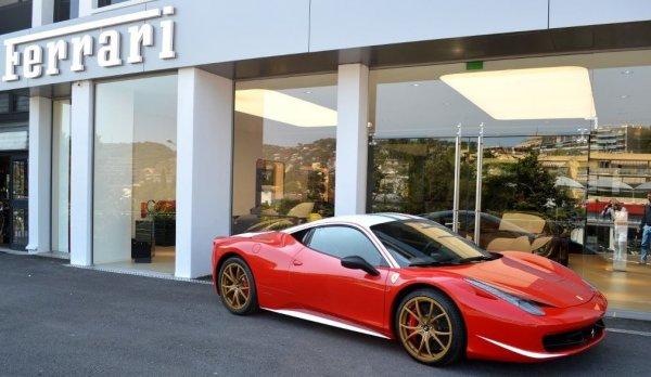 Единственный в мире Ferrari 458 Italia