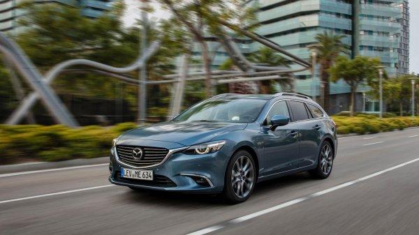Вышел обновленный японский универсал: Обзор Mazda 6 2016