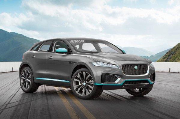 Jaguar E-Pace может стать первым полностью электрическим кроссовером компании
