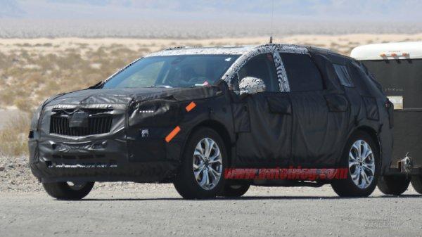 2018 Buick Enclave замечен на тестах в Долине Смерти