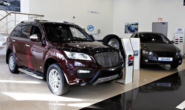 В России лишь один китайский бренд увеличил продажи автомобилей в августе