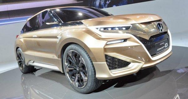 Honda вывела на тесты новый купеобразный кроссовер в Китае
