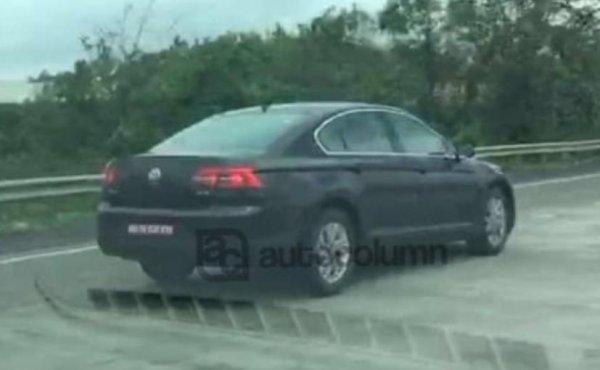 Новое поколение Volkswagen Passat начали импортировать в Индию