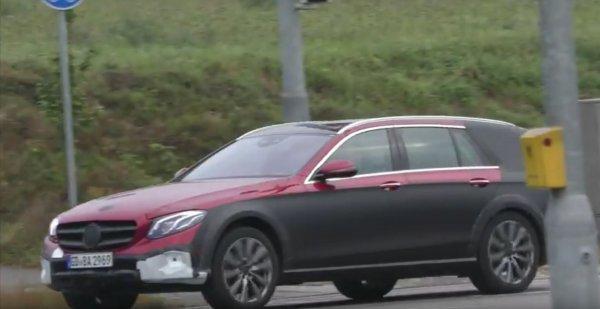 Mercedes-Benz E-Class All Terrain показался на шпионских фото