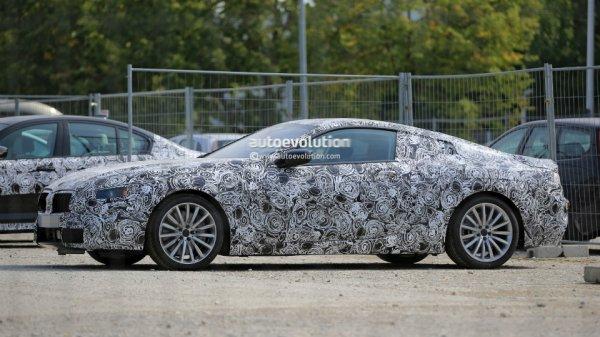 BMW начала испытания преемника 8-Series