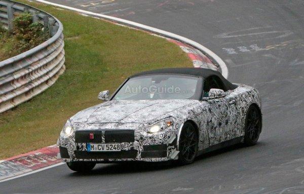 Новый BMW Z5 проходит испытания на Нюрбургринге