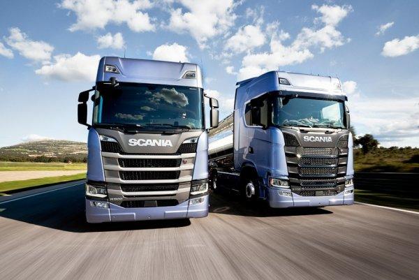 Scania представила две новые модели на Ганноверском автосалоне