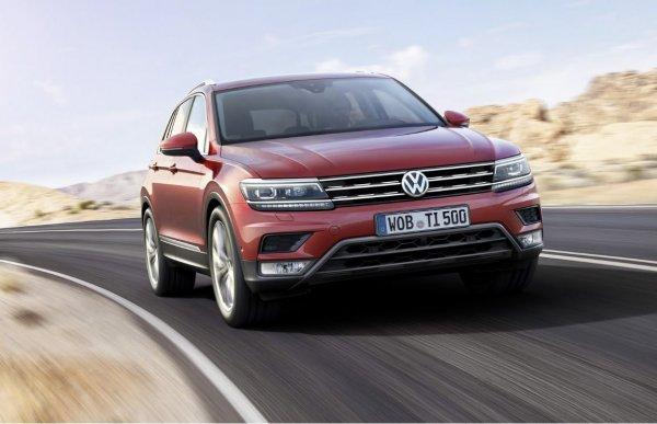 Вышел новый немецкий кроссовер: Обзор Volkswagen Tiguan 2017