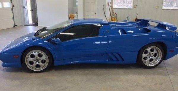 Lamborghini Diablo Дональда Трампа был продан на eBay