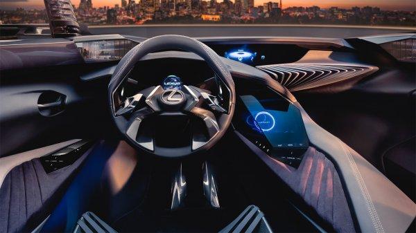 Lexus поделились деталями «космического» интерьера концепта внедорожника UX