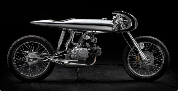 Вьетнамские тюнеры представили новую модель кастом мотоцикла Bandit9 EVE MKII