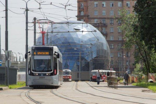 Москвичи смогут сами выбрать дизайн и название для новых трамваев