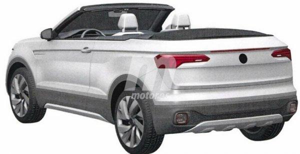 Volkswagen запатентовал компактный внедорожный кабриолет