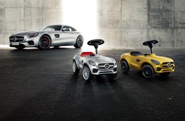 В честь 20-летнего юбилея первого Bobby-Car Mercedes-Benz выпустил Bobby AMG GT