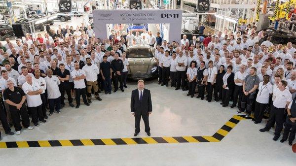 Aston Martin дал старт производству спорткара DB11
