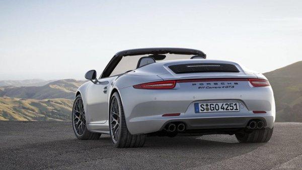 Porsche представит на автосалоне в Париже гибридную Panamera 4 и гоночный 911