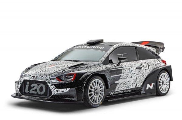 Hyundai i20 WRC 2017 представлен официально
