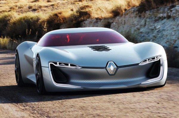 Концепт Renault Trenzor представлен официально