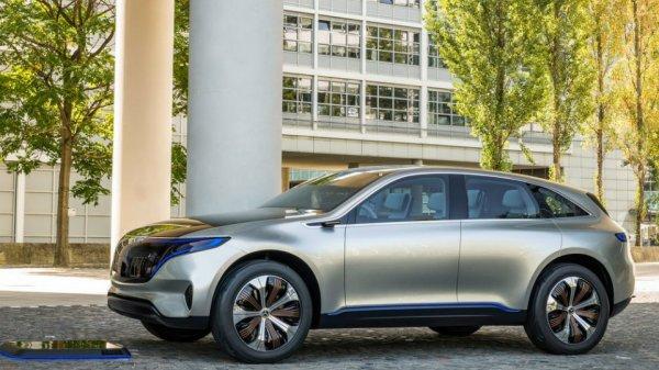 Mercedes-Benz представили концепт электрокроссовера
