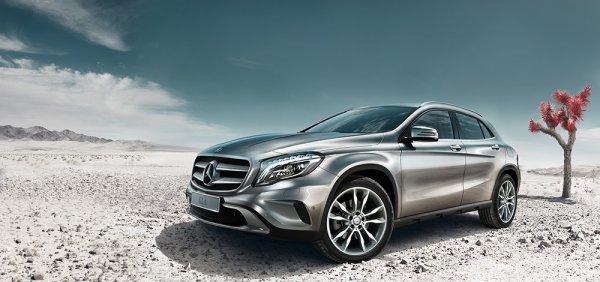 Новый Mercedes-Benz GLA выпустят в 2017 году