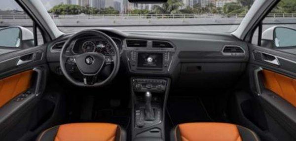 Volkswagen Tiguan импортирован в Индию для тестирования