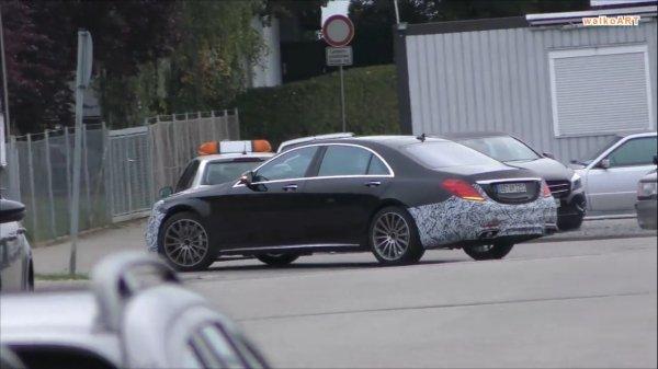 Фотошпионы запечатлели новый Mercedes-AMG, проходящий дорожные тесты