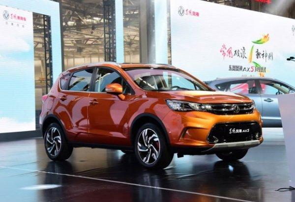 В Китае с завода сошёл кроссовер Dongfeng AX5