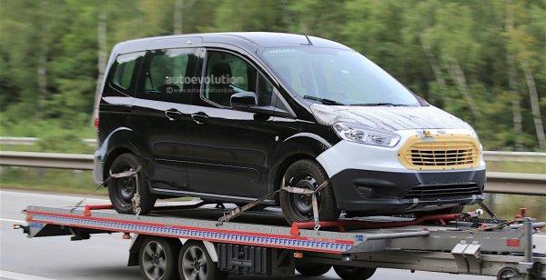 В сети появились первые снимки Ford Tourneo Courier