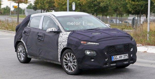 Hyundai продолжает тест-драйв основного конкурента Nissan Juke