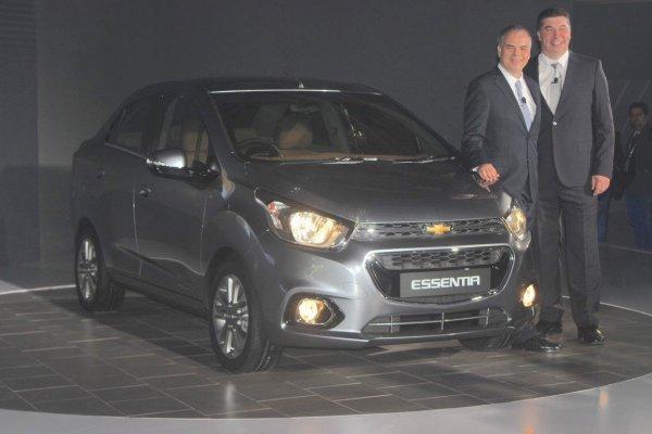 Chevrolet выпустит новый бюджетный седан на базе Spark