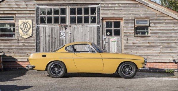 Оригинальный Volvo P1800E продадут за 41,5 тысячи долларов